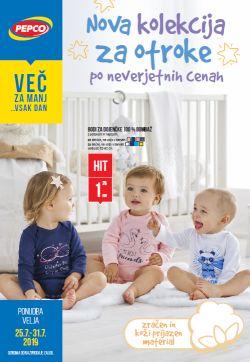 Pepco katalog Nova kolekcija za otroke