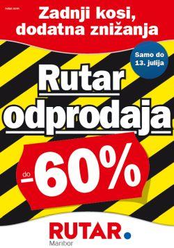 Rutar katalog Odprodaja Maribor do 13. 07.