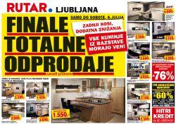 Rutar katalog Odprodaja Ljubljana do 06. 07.