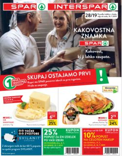 Spar in Interspar katalog do 16. 07.