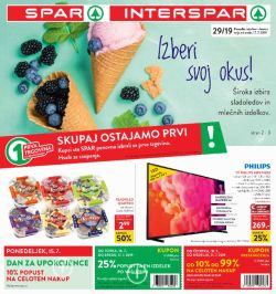Spar in Interspar katalog do 23. 07.