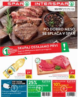 Spar in Interspar katalog do 30. 07.