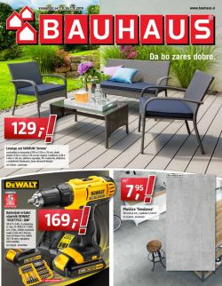 Bauhaus katalog avgust 2019