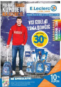 E Leclerc katalog Ljubljana do 01. 09.