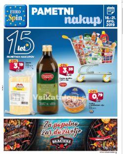 Eurospin katalog do 21. 08.