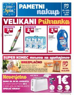 Eurospin katalog do 04. 09.