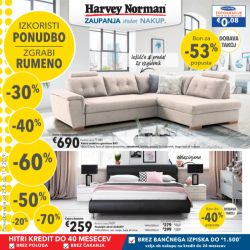 Harvey Norman katalog Zgrabi rumeno