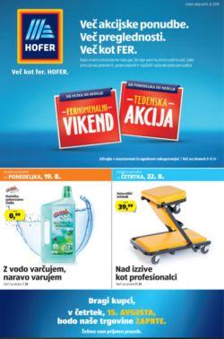Hofer katalog od 14. 08.