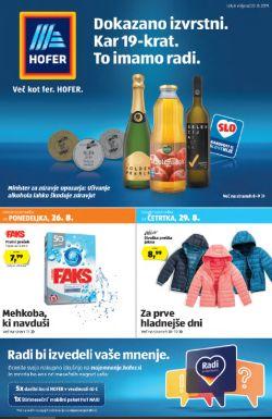 Hofer katalog od 22. 08.
