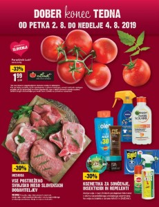 Mercator vikend akcija do 04. 08.