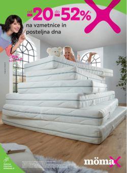 Momax katalog Vzmetnice in posteljna dna