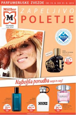 Muller katalog parfumerija Zapeljivo poletje