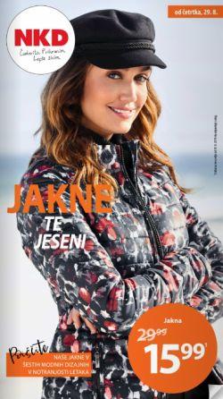 NKD katalog Jakne te jeseni od 29. 08.