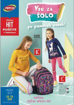 Pepco katalog Vse za šolo po pametnih cenah