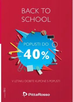 PittaRosso katalog Back to School