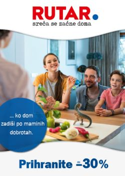 Rutar katalog Maribor Prihranite do – 30 %