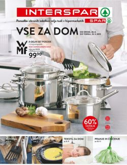 Spar in Interspar katalog Vse za dom do 10. 09.