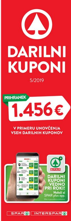 Spar in Interspar katalog Boni 05/19