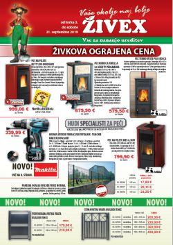 Živex katalog september 2019