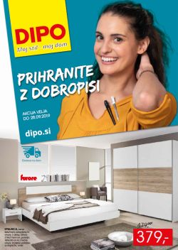 Dipo katalog Prihranite z dobropisi do 28. 09.