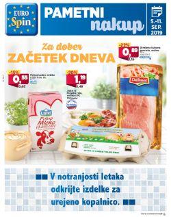 Eurospin katalog do 11. 09.