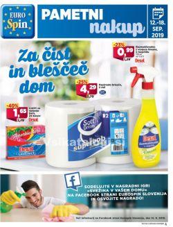 Eurospin katalog do 18. 09.