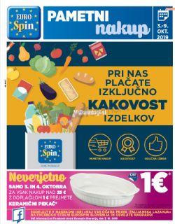 Eurospin katalog do 9. 10.