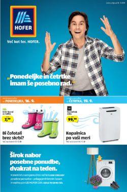 Hofer katalog od 12. 09.
