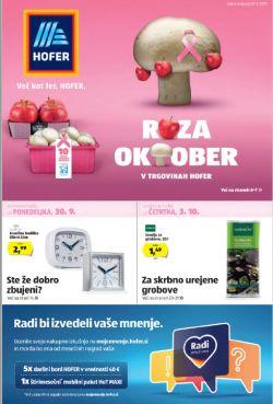 Hofer katalog od 27. 09.
