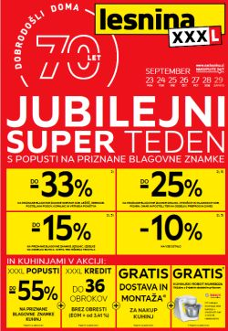 Lesnina katalog Jubilejni super teden do 29. 09.