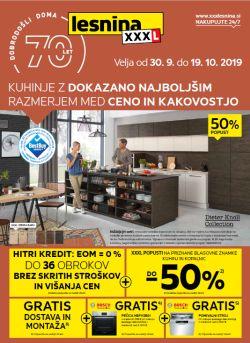 Lesnina katalog Kuhinje do 19. 10.