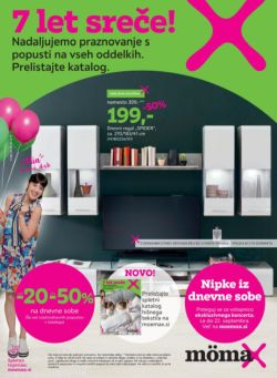 Momax katalog 7 let sreče do 28. 09.