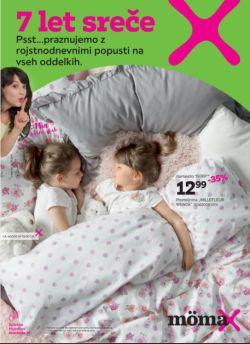 Momax katalog 7 let sreče – hišni tekstil