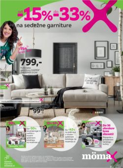 Momax katalog od 15 % do – 30 % na sedežna garniture
