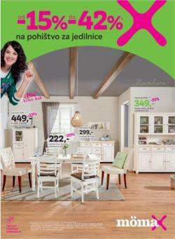 Momax katalog Pohištvo za jedilnice do 12. 10.