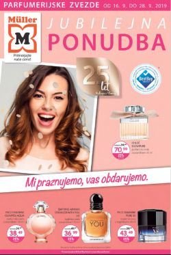 Muller katalog parfumerija do 28. 09.