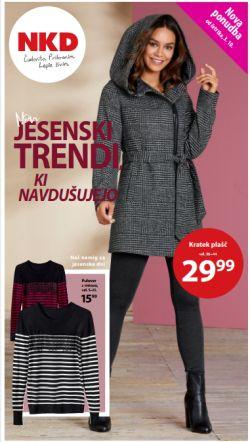 NKD katalog Novi jesenski trendi od 03. 10.
