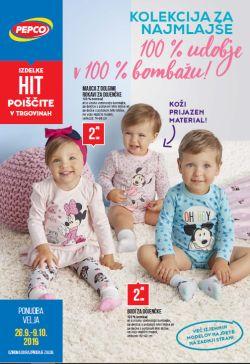 Pepco katalog Kolekcija za najmlajše do 9. 10.