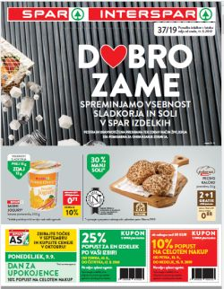 Spar in Interspar katalog do 24. 09.