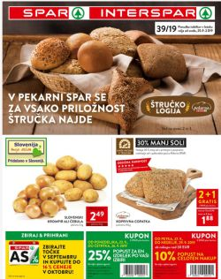 Spar in Interspar katalog do 08. 10.