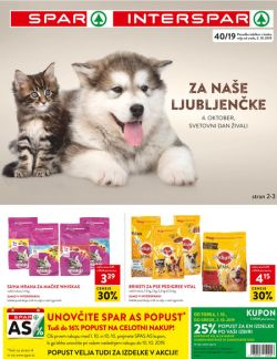 Spar in Interspar katalog do 15. 10.