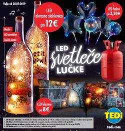 TEDI katalog LED svetleče lučke od 30. 09.