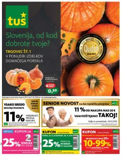 Tuš katalog trgovine in franšize do 07. 10.