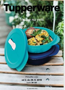 Tupperware katalog Vedno na poti do 29. 09.
