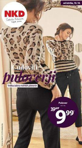 NKD katalog Čudoviti puloverji