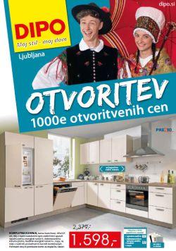 Dipo katalog 1000e otvoritvenih cen