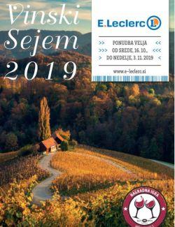 E Leclerc katalog Vinski sejem 2019