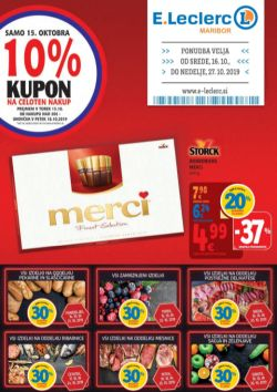 E Leclerc katalog Maribor do 27. 10.
