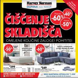 Harvey Norman katalog Čiščenje skladišča