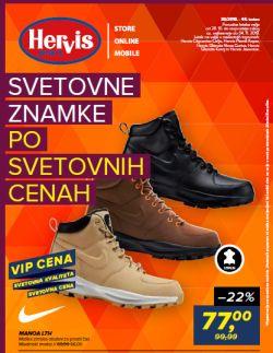 Hervis katalog Svetovne znamke po svetovnih cenah